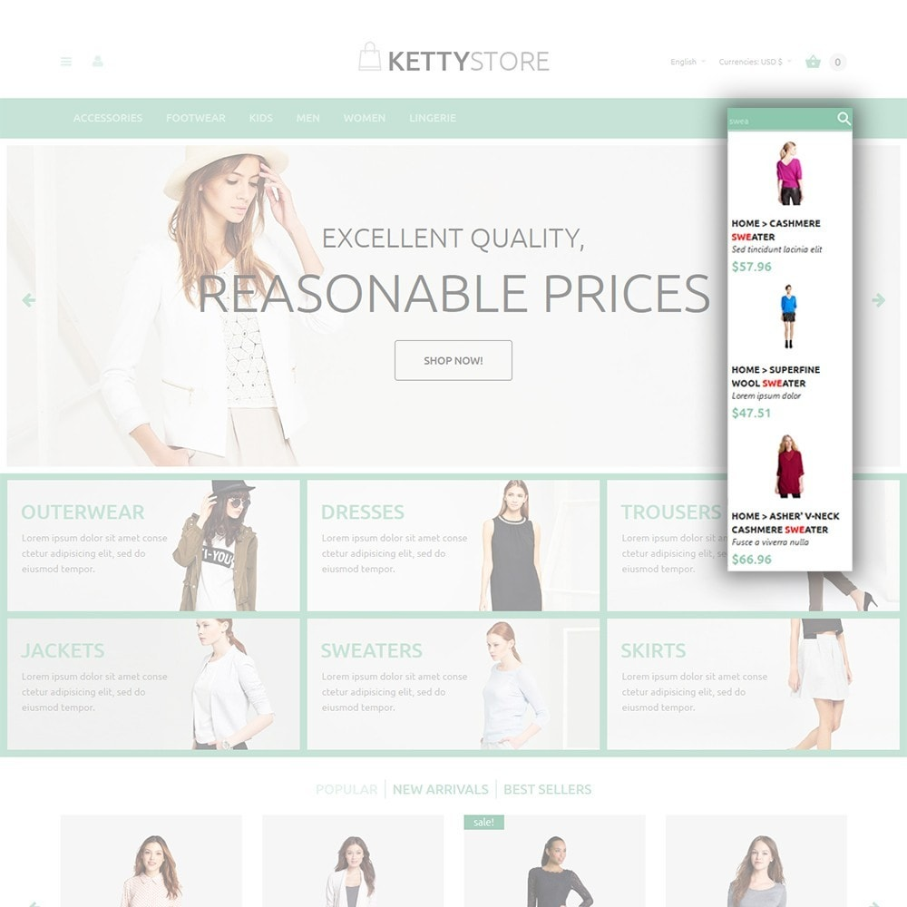 theme - Mode & Chaussures - KettyStore - 6