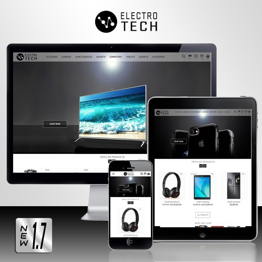 theme - Elettronica & High Tech - Electro Tech - 1