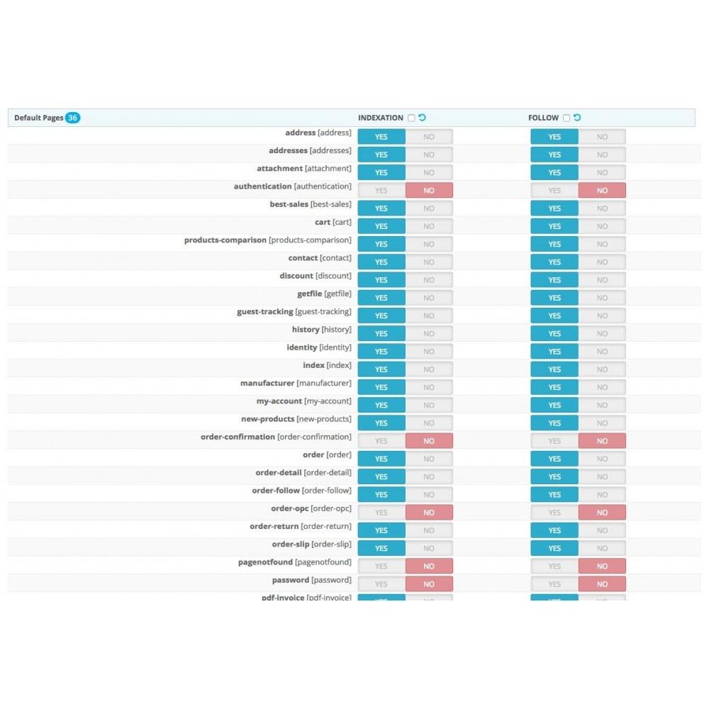 module - SEO - SEO NOindex,follow (handles Duplicate content) - 4