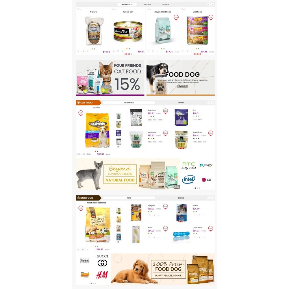 theme - Tier - Animals & Pets Care Store - 3