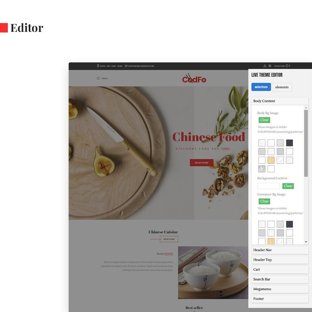 theme - Eten & Restaurant - Ap Codfo - 3