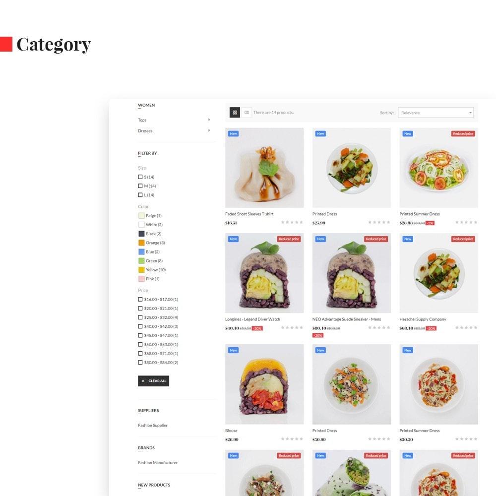 theme - Продовольствие и рестораны - Ap Codfo - 5