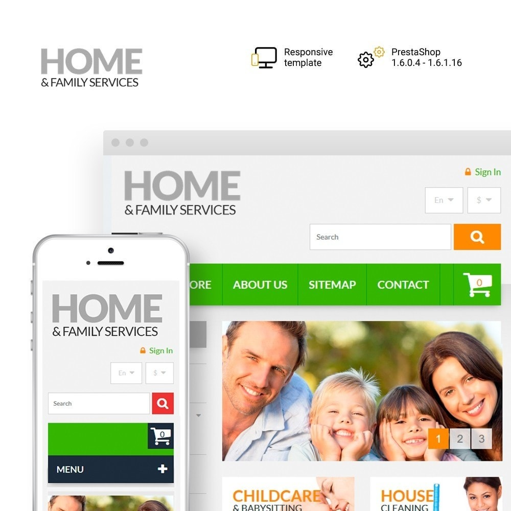 theme - Dom & Ogród - Home & Family Services - 1