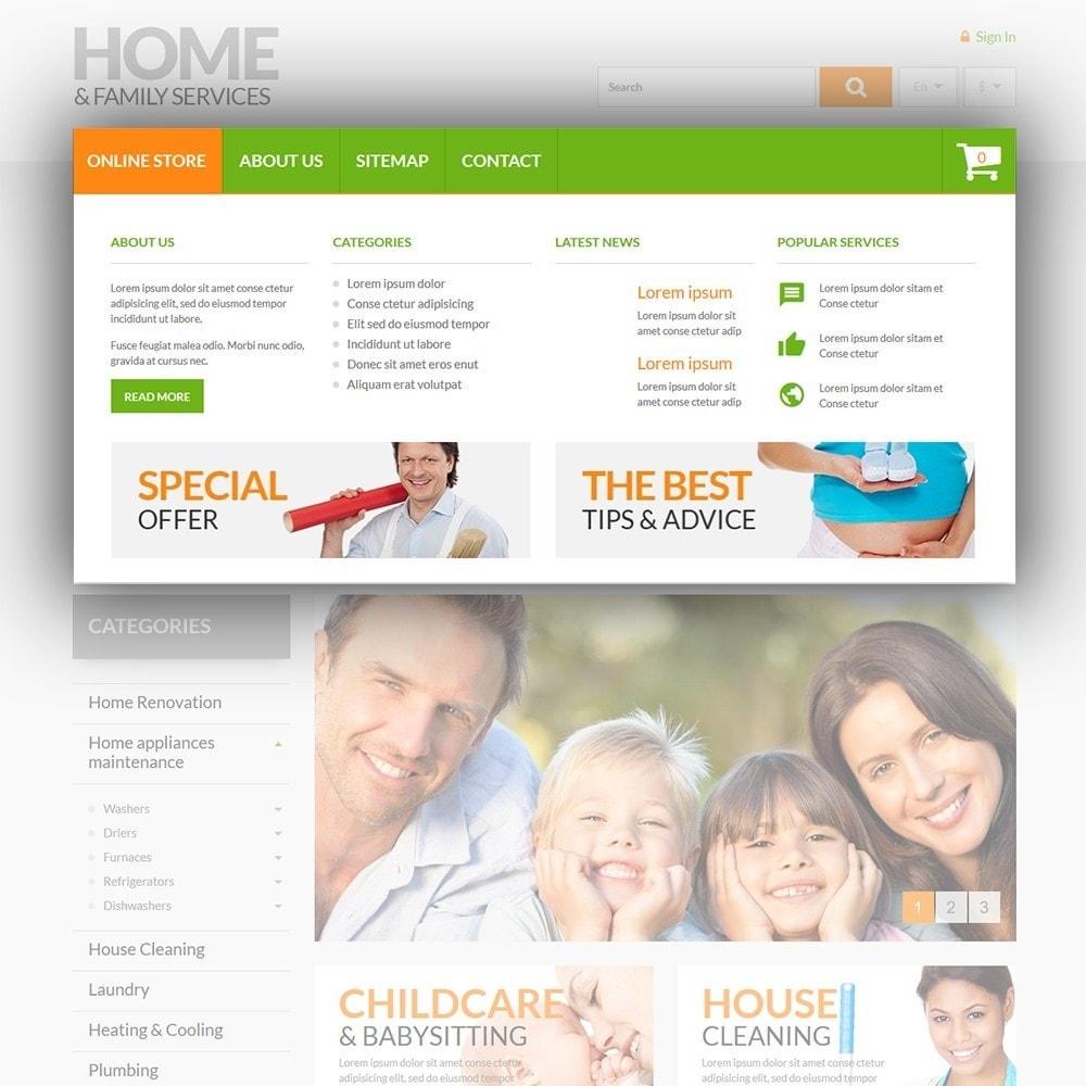 theme - Hogar y Jardín - Home & Family Services - 5