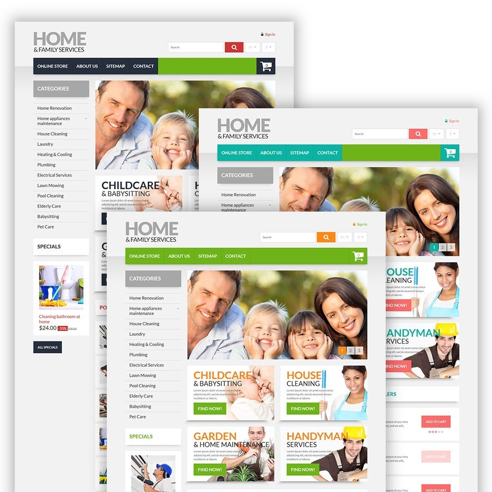 theme - Casa & Giardino - Home & Family Services - 2