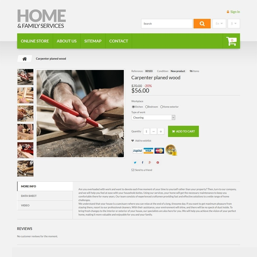 theme - Casa & Giardino - Home & Family Services - 3