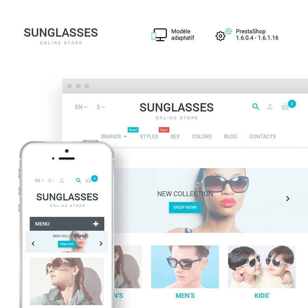 theme - Mode & Chaussures - Sunglasses - 1