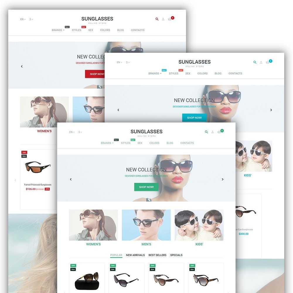 theme - Moda & Calzature - Sunglasses - 2