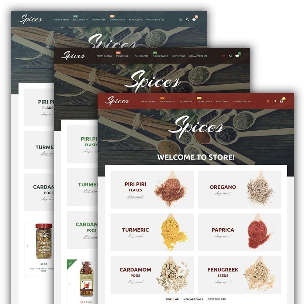 theme - Gastronomía y Restauración - Spice Shop - 2