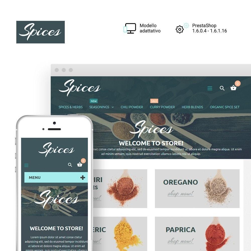 theme - Cibo & Ristorazione - Spice Shop - 1