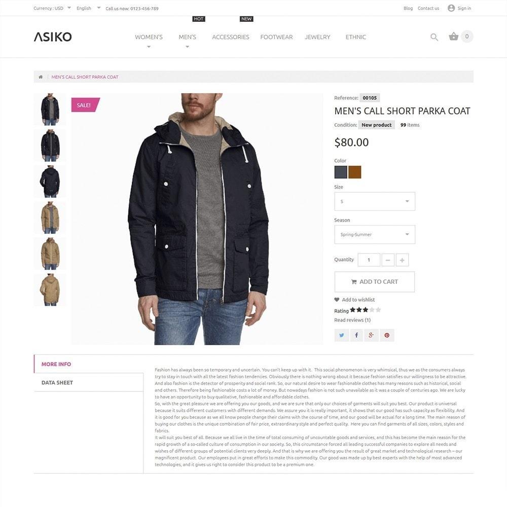 theme - Fashion & Shoes - Asiko - 3