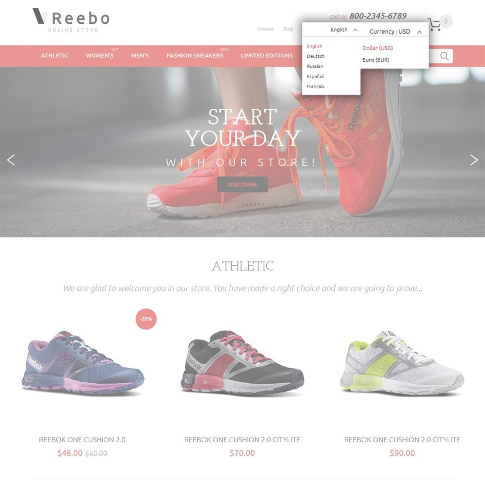 theme - Mode & Schoenen - Reebo - Shoe Store - 7