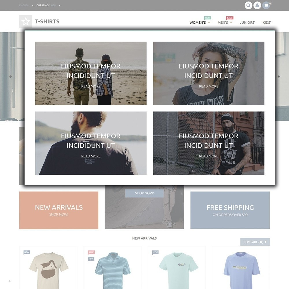 theme - Moda & Obuwie - T-Shirts - 4