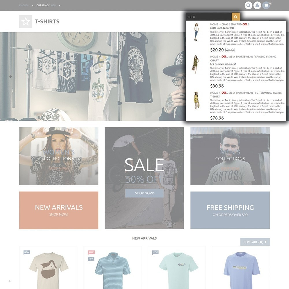 theme - Mode & Schuhe - T-Shirts - 6