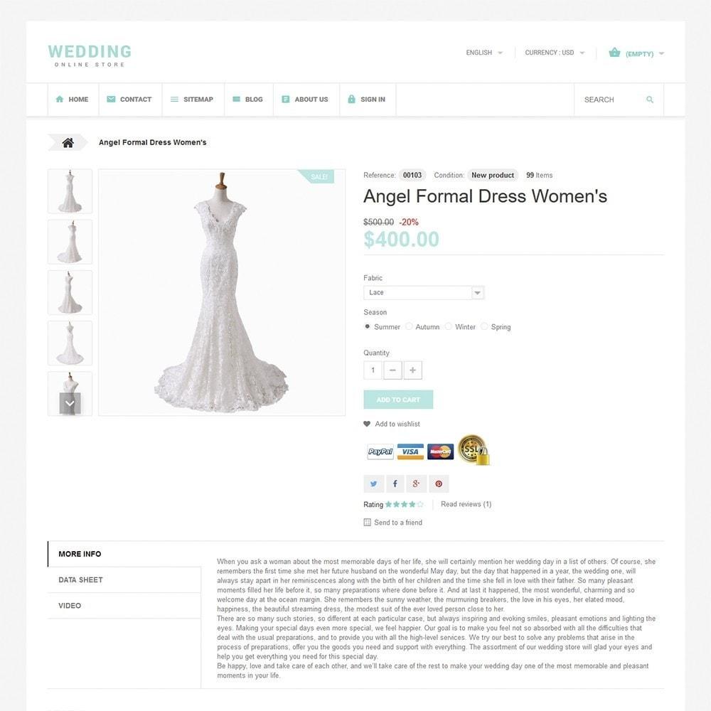 theme - Mode & Chaussures - Wedding - 3
