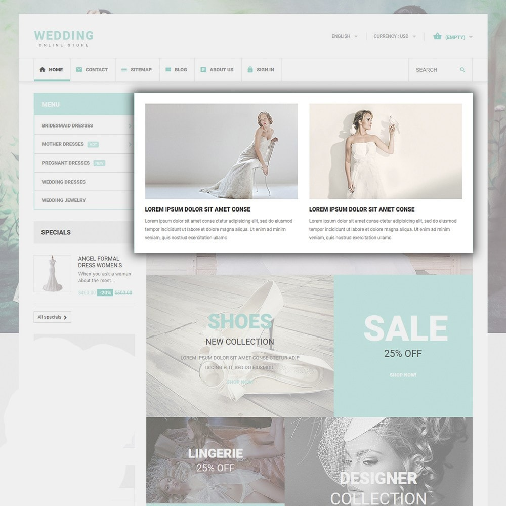 theme - Mode & Chaussures - Wedding - 5