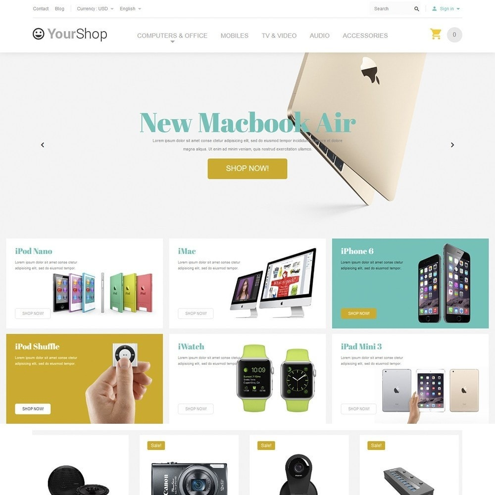 theme - Electronics & Computers - YourShop - Electronics Store - 2