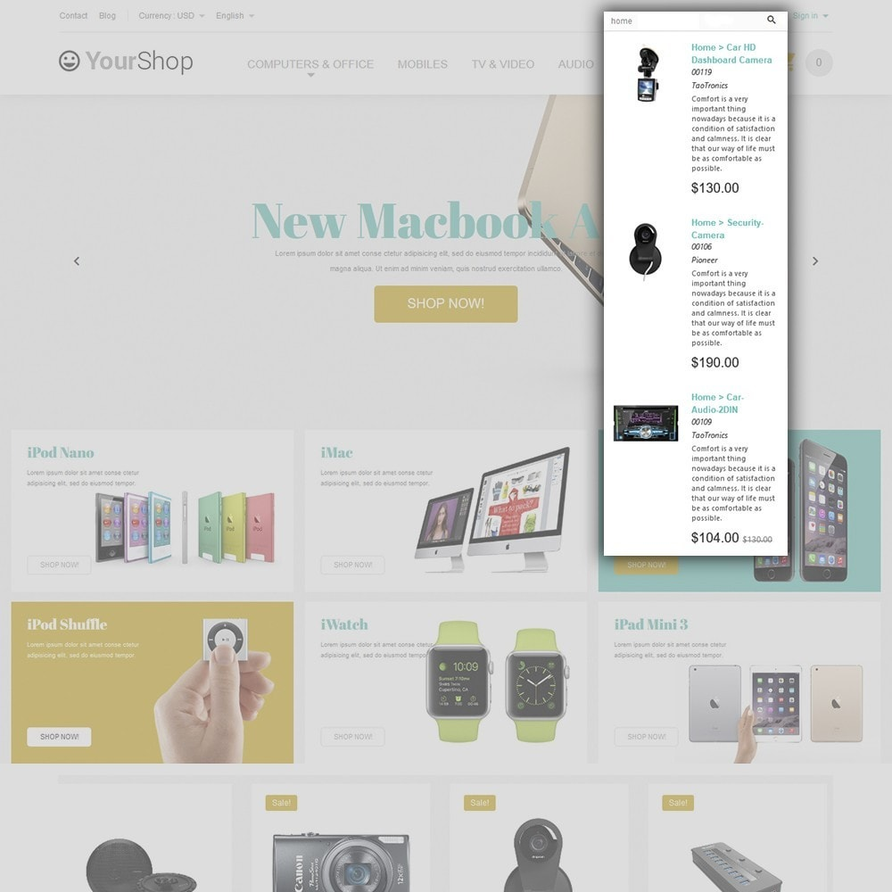 theme - Elettronica & High Tech - YourShop - Electronics Store - 6