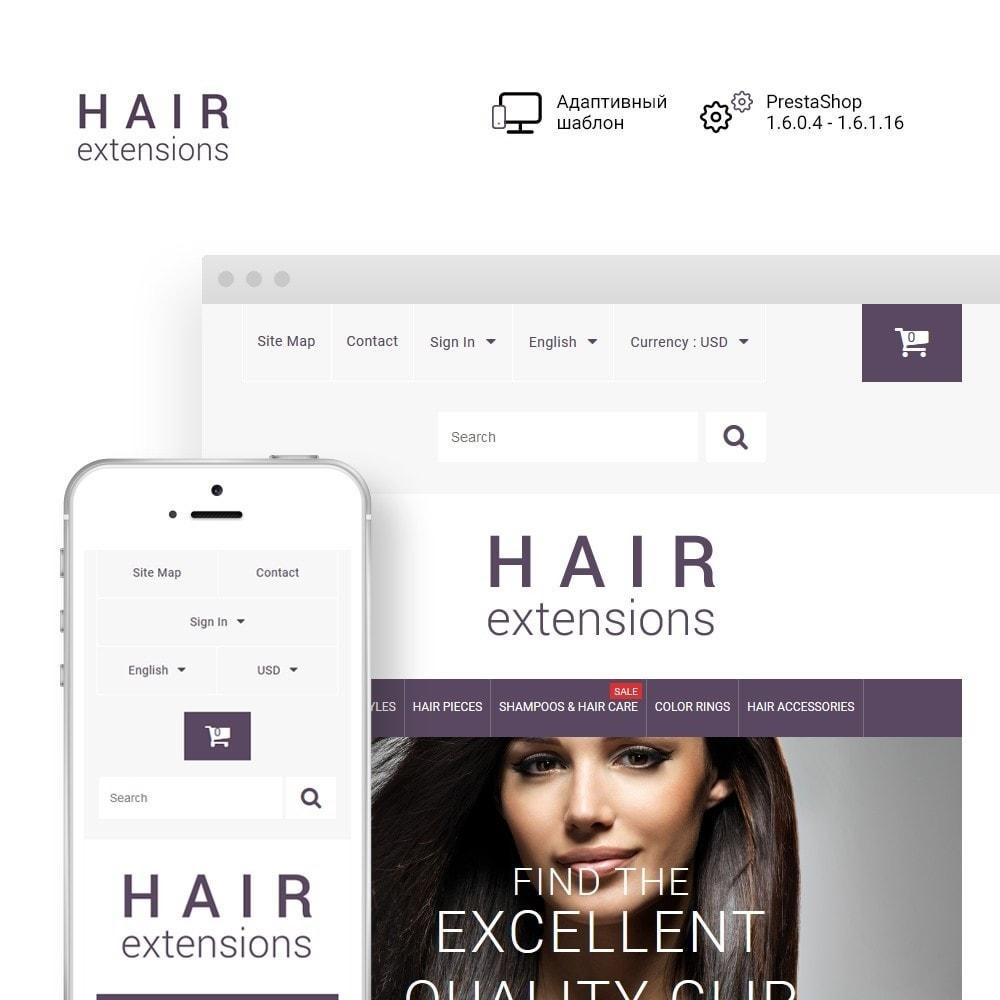 theme - Мода и обувь - Hair Extensions - 1