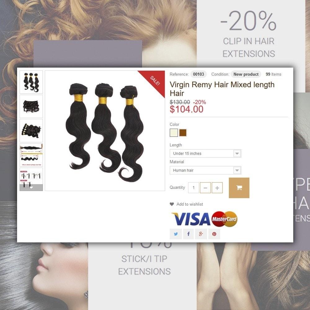 theme - Мода и обувь - Hair Extensions - 5