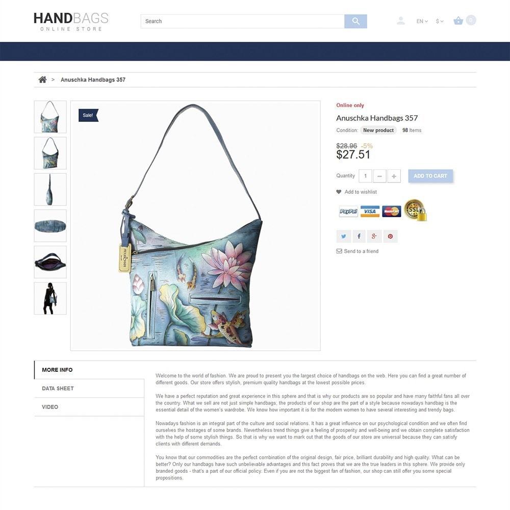 theme - Мода и обувь - Handbag - 3