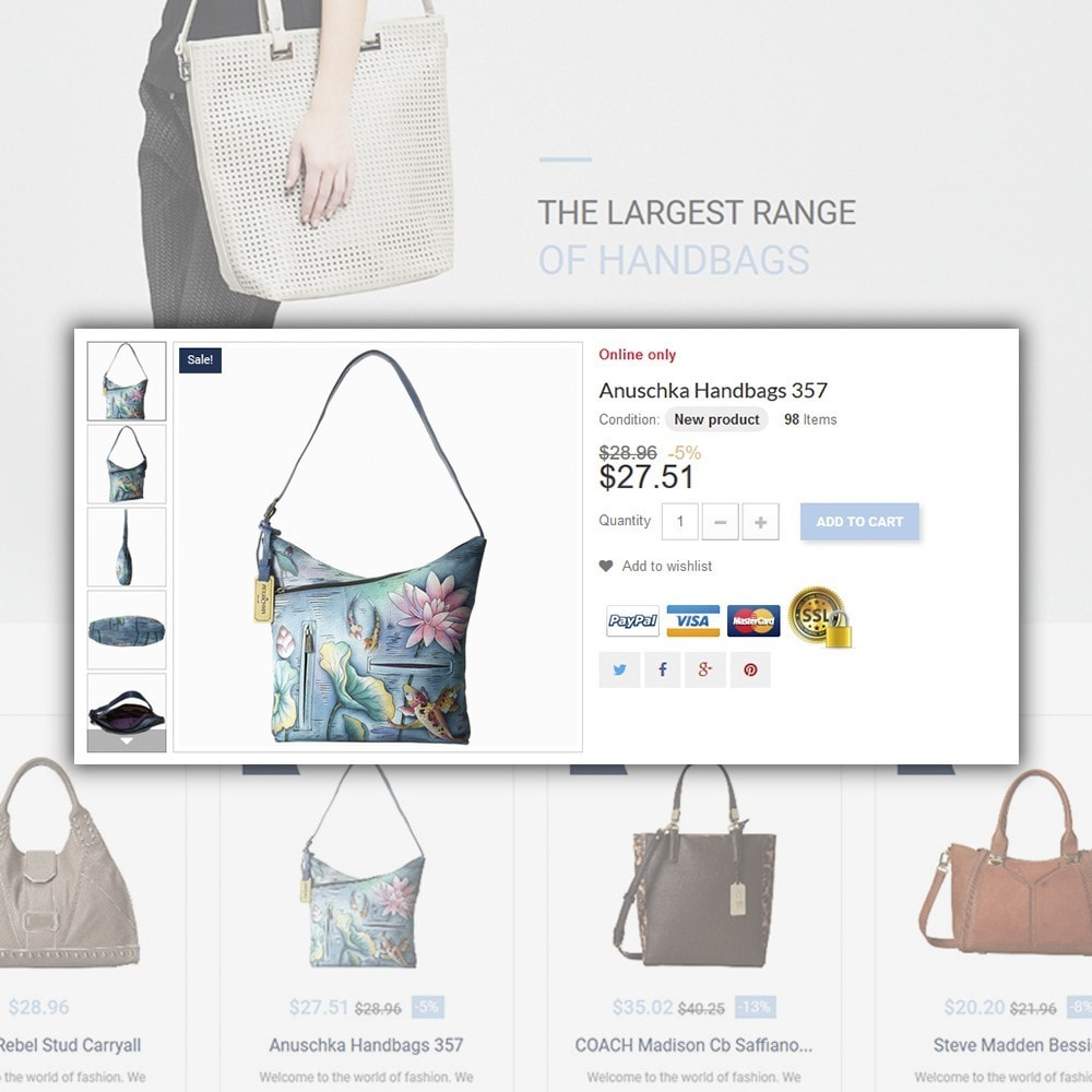 theme - Moda & Calzature - Handbag - 4