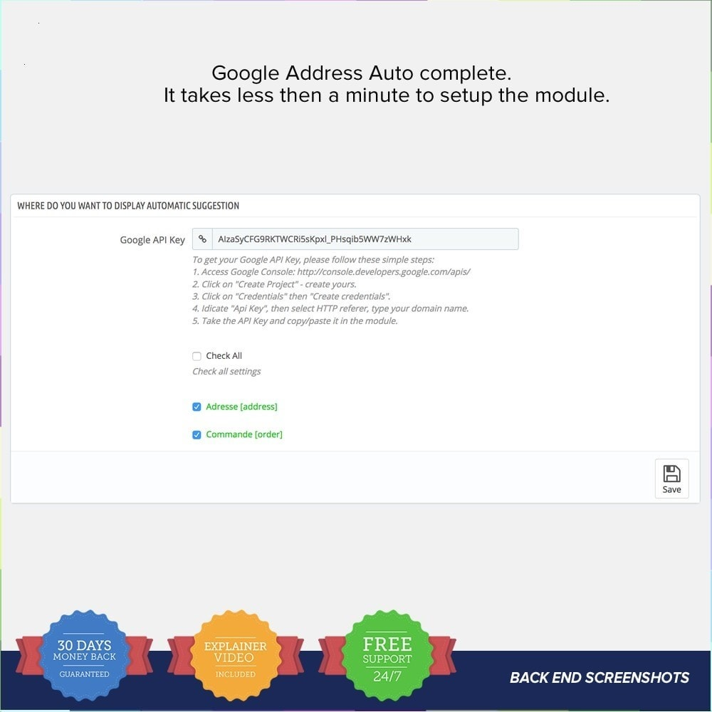 module - Suche & Filter - Google Address Autocomplete - 3