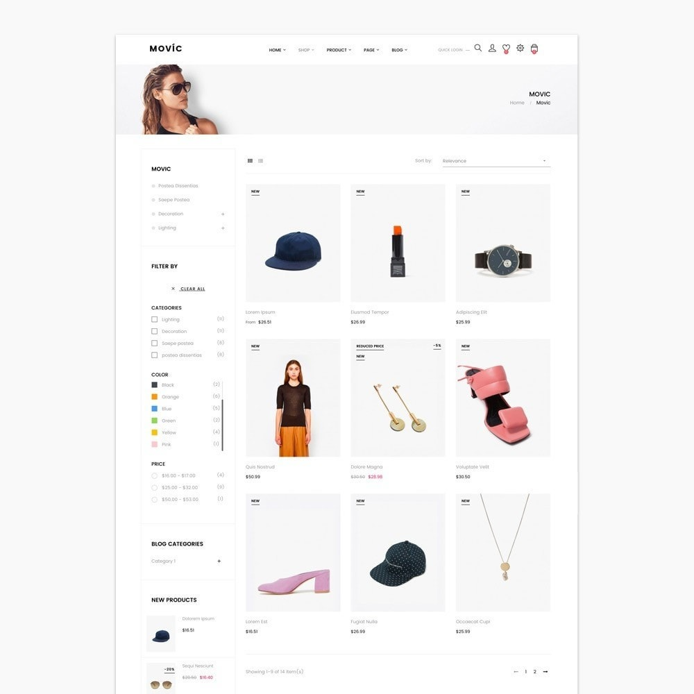 theme - Moda & Calzature - Movic Fashion Store - Prestashop 1.7 - 7