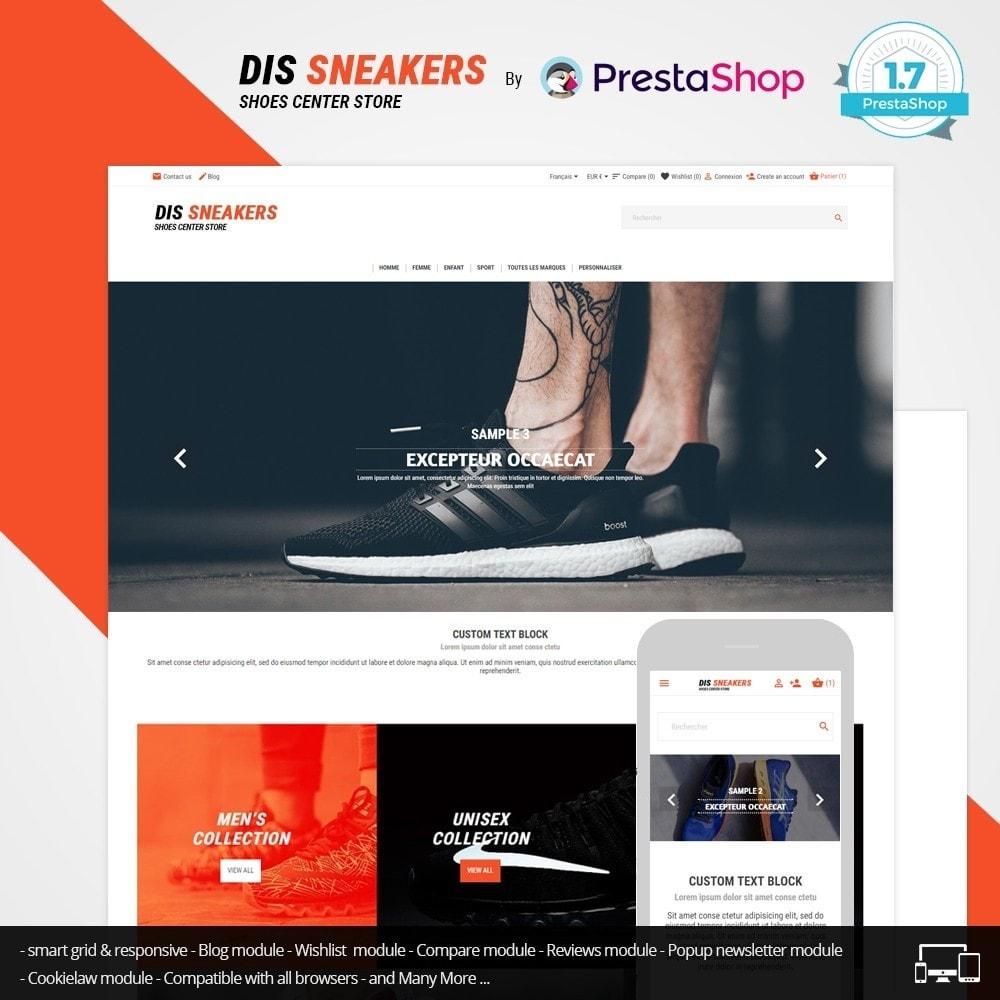 theme - Fashion & Shoes - Thème Dis Sneakers Store - 1