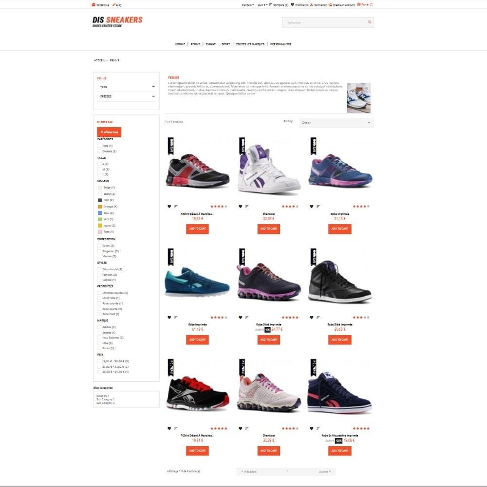theme - Mode & Schuhe - Thème Dis Sneakers Store - 3