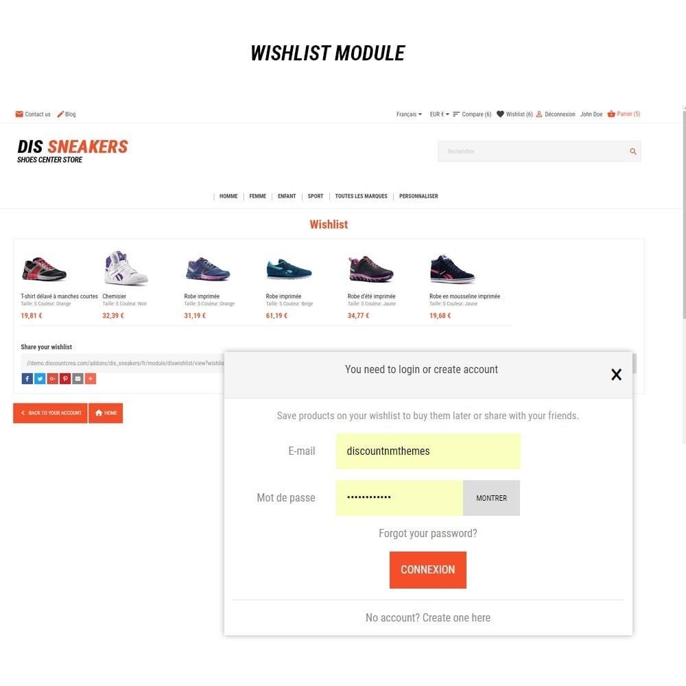 theme - Fashion & Shoes - Thème Dis Sneakers Store - 8
