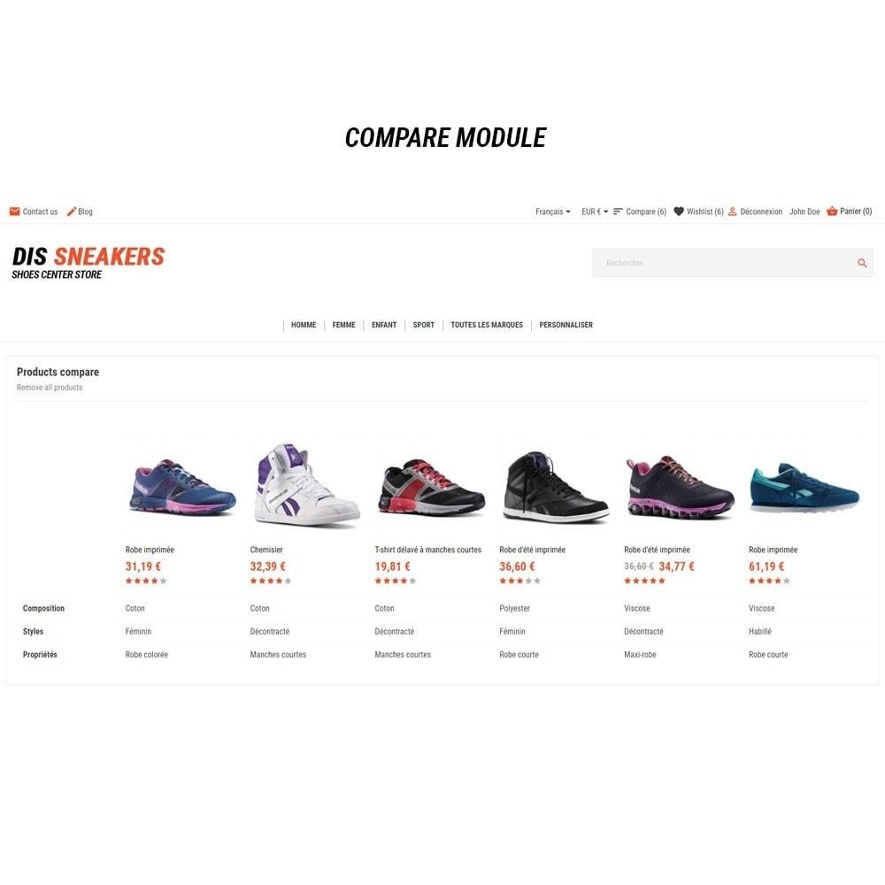 theme - Fashion & Shoes - Thème Dis Sneakers Store - 9