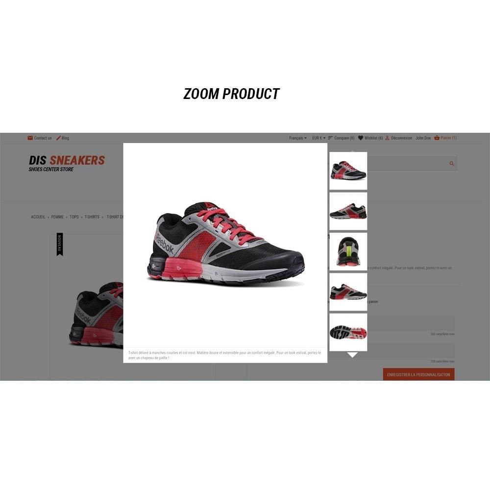 theme - Fashion & Shoes - Thème Dis Sneakers Store - 15