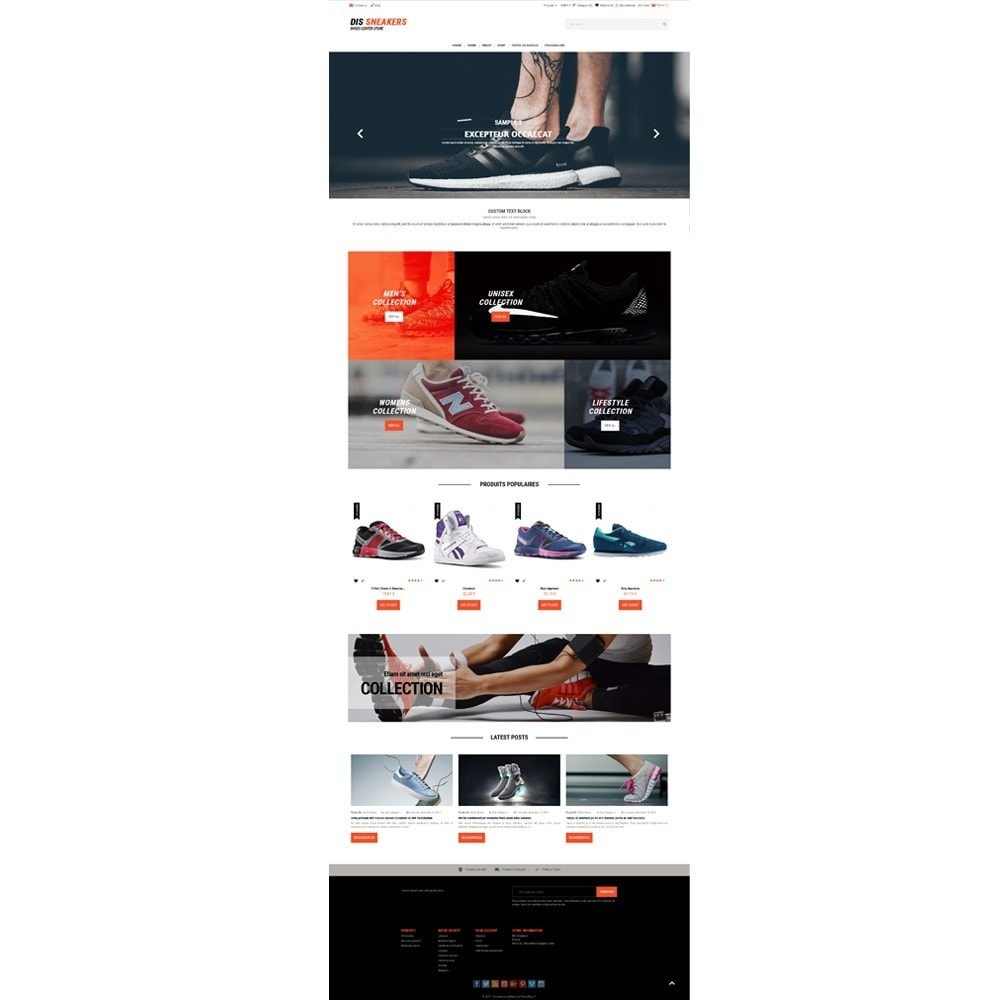 theme - Mode & Chaussures - Thème Dis Sneakers Store - 3