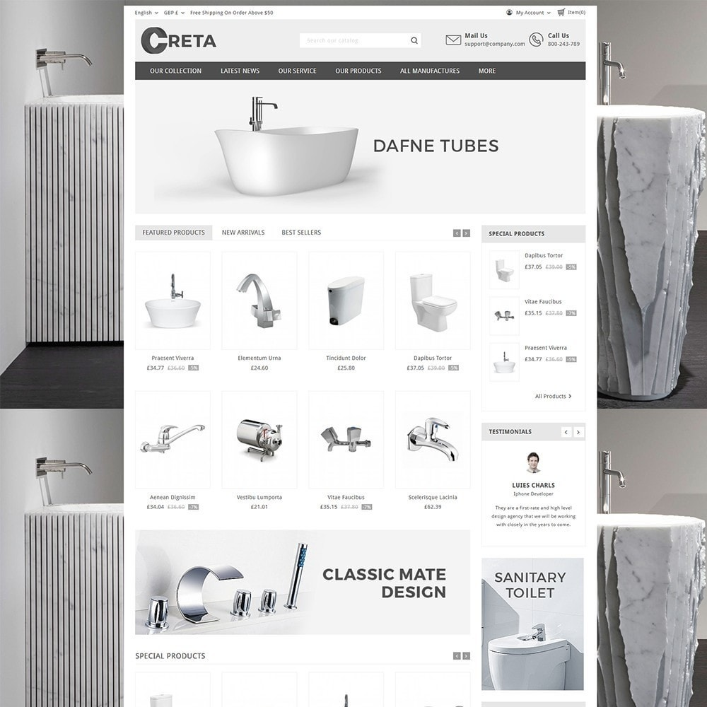 theme - Casa & Giardino - Creta Home Store - 2