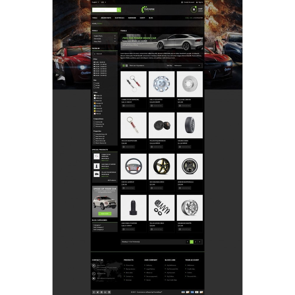 theme - Automotive & Cars - Extreme - Automobiles Store - 4