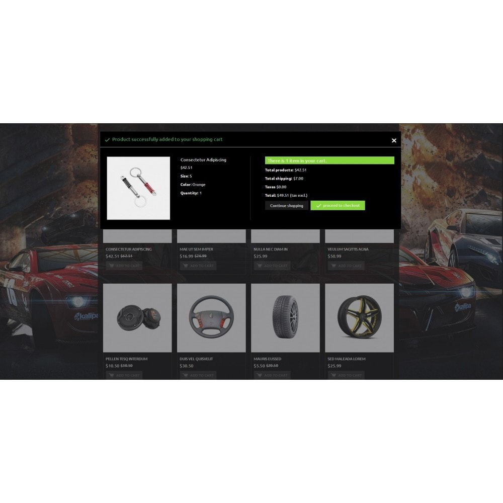 theme - Coches y Motos - Extreme - Automobiles Store - 8