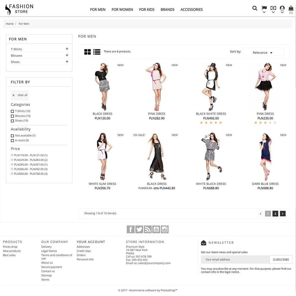 theme - Moda & Obuwie - Fashion Store - 5
