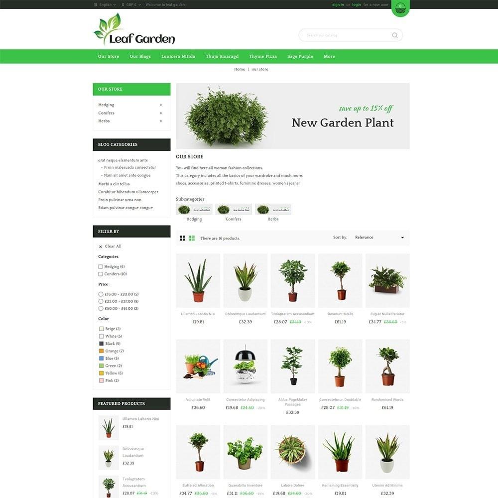 theme - Дом и сад - Leaf Garden Store - 4