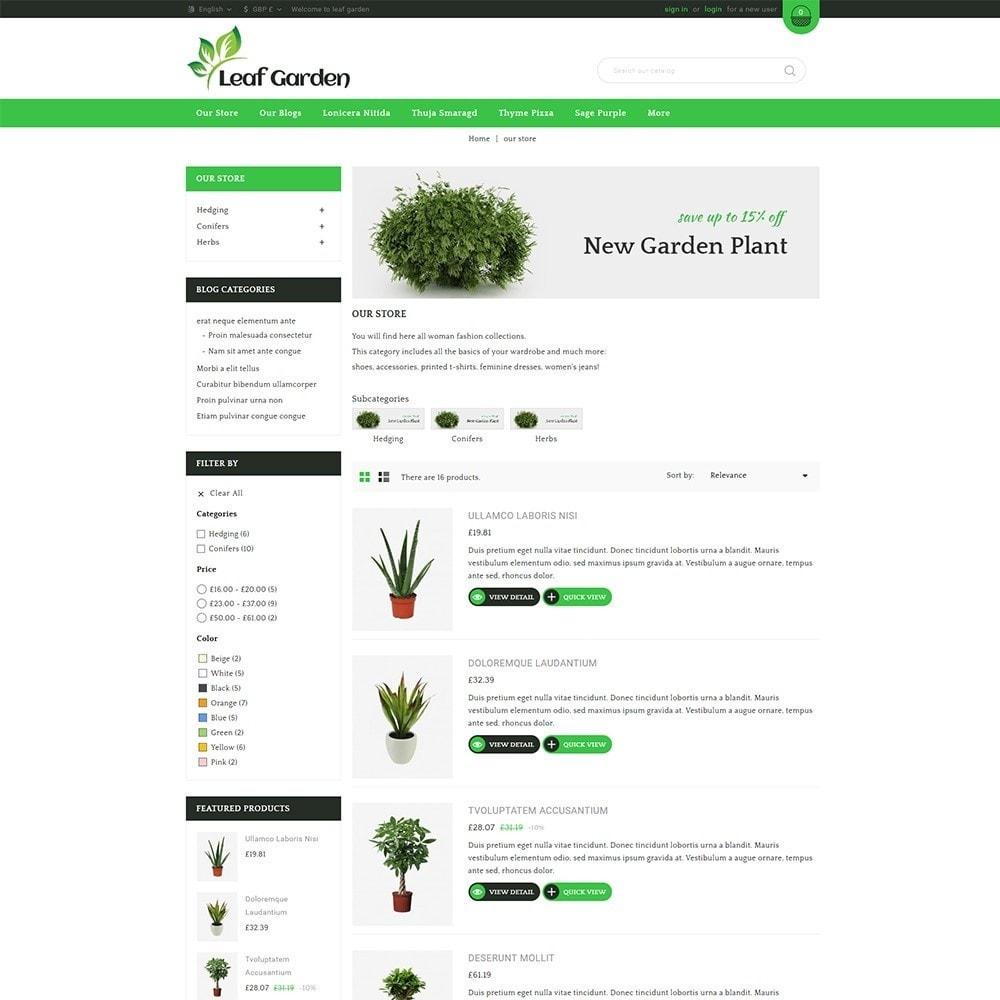 theme - Дом и сад - Leaf Garden Store - 5