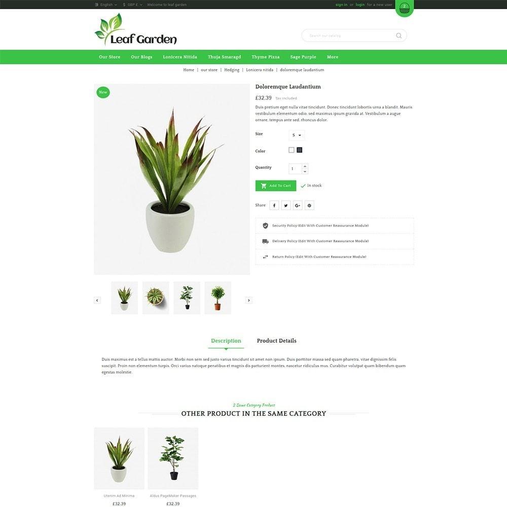 theme - Дом и сад - Leaf Garden Store - 6
