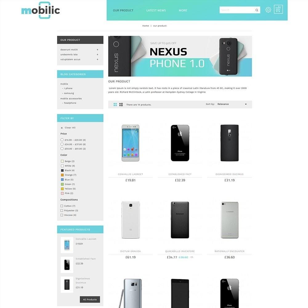 theme - Elektronik & High Tech - Mobilic Mobile Shop - 4