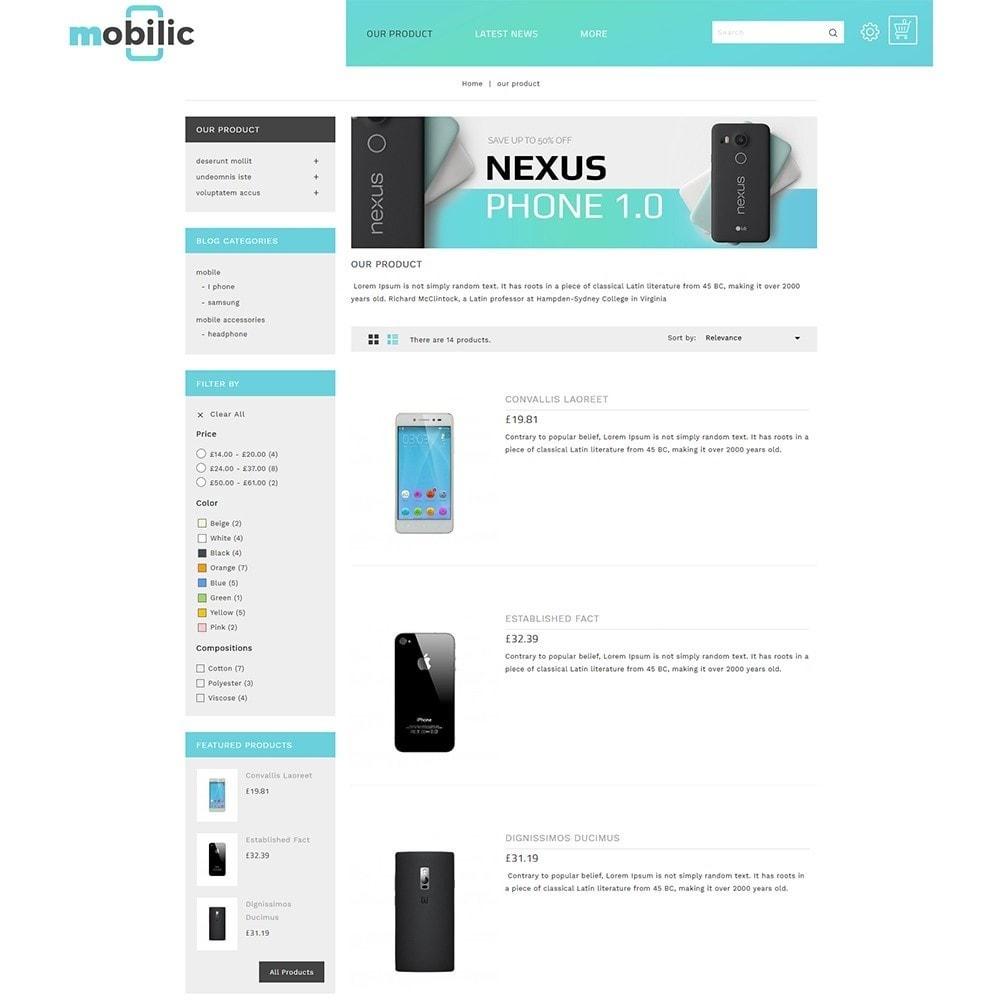 theme - Elektronik & High Tech - Mobilic Mobile Shop - 5