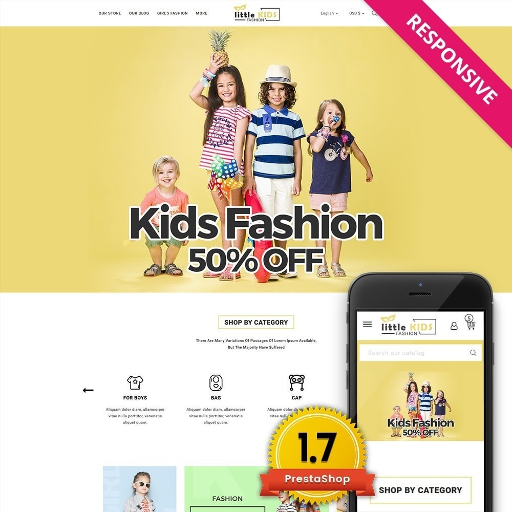 theme - Moda & Obuwie - Littekids Fashion Store - 1