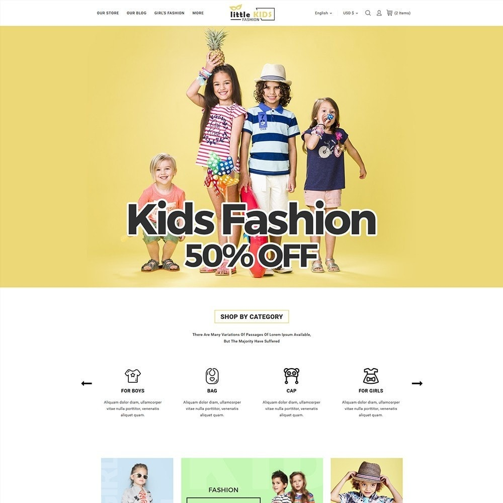 theme - Moda & Obuwie - Littekids Fashion Store - 2