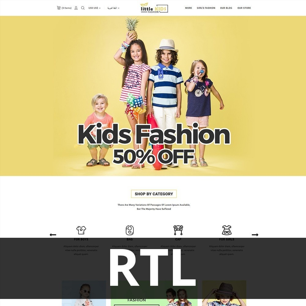 theme - Moda & Obuwie - Littekids Fashion Store - 3