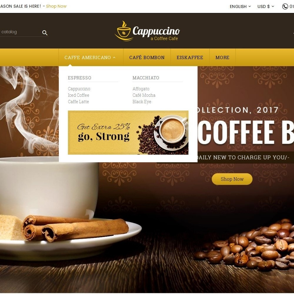 theme - Drink & Tobacco - Coffee Cappuccino - 8