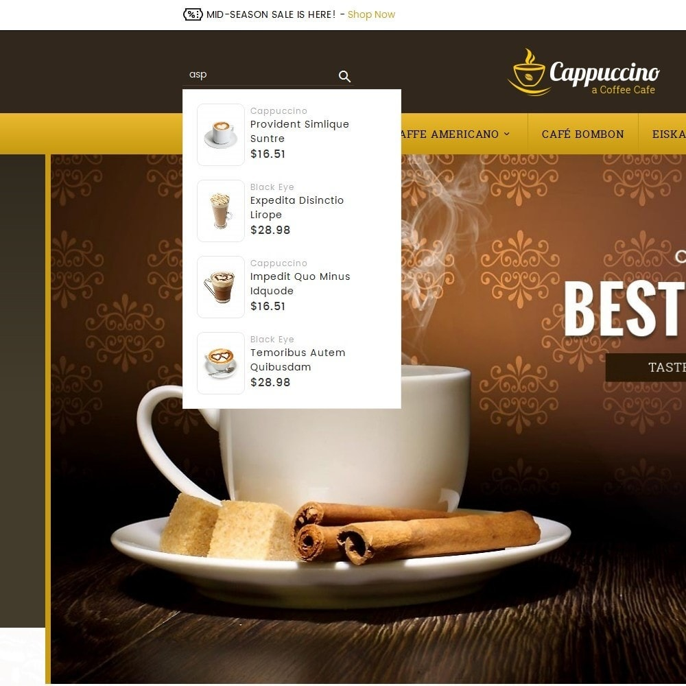 theme - Drink & Tobacco - Coffee Cappuccino - 9
