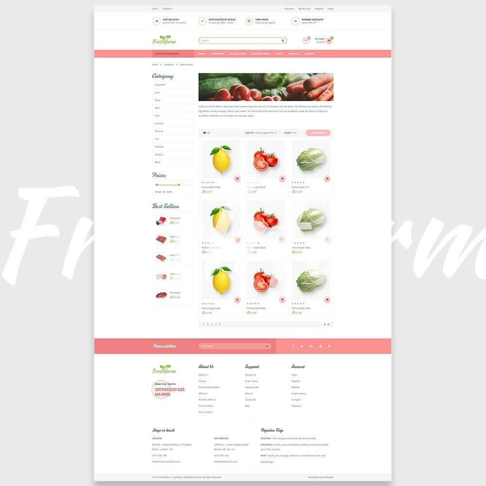 theme - Lebensmittel & Restaurants - Leo Fresh Farm - 6