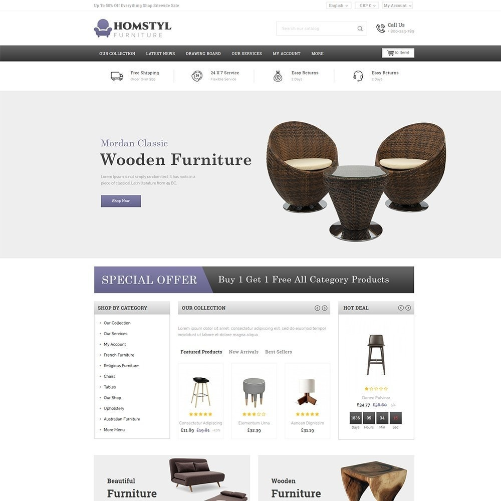 theme - Dom & Ogród - Homstyl Furniture Store - 2